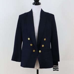 CAbi nautical blazer navy blue